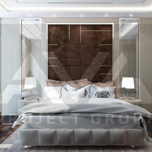 ЖК Шервуд спальня со столом 1