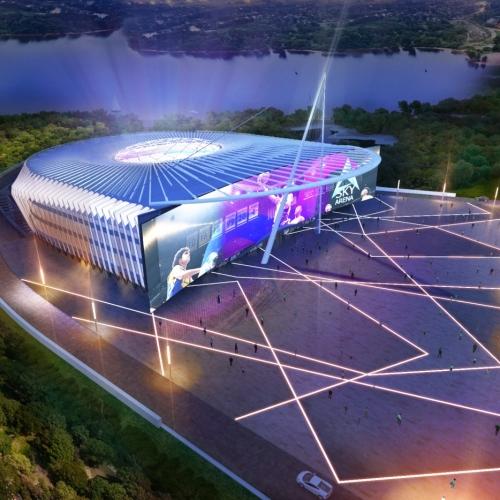 88 Sky Arena. На стадии проекта. Киев