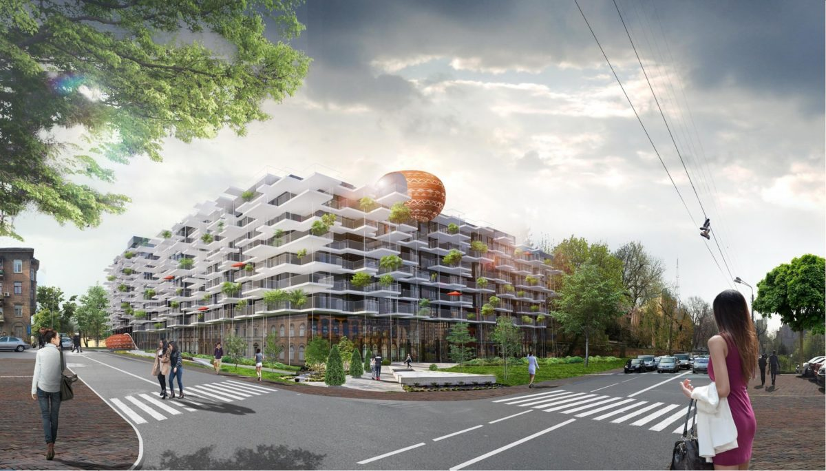 Concept of residential complex