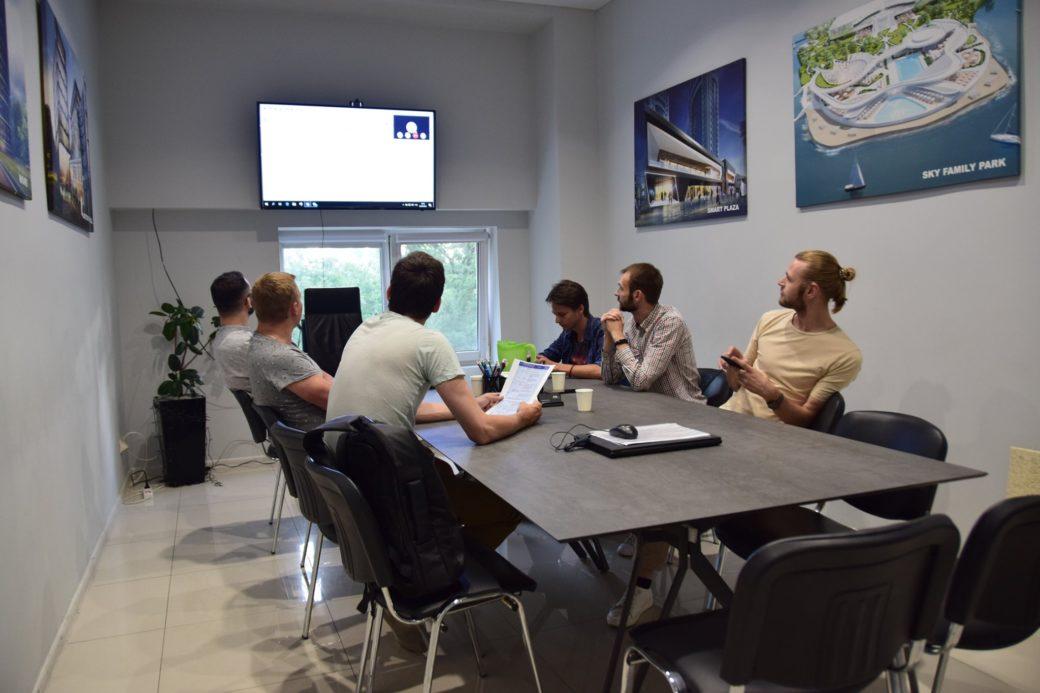 Рабочая группа UA BIM TASK GROUP собралась в офисе AVG Group