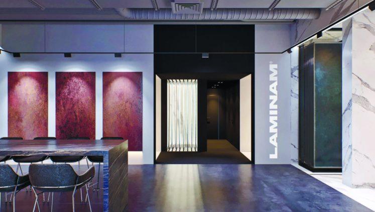 Поздравляем компанию Laminam UA с открытием офиса и шоурума!