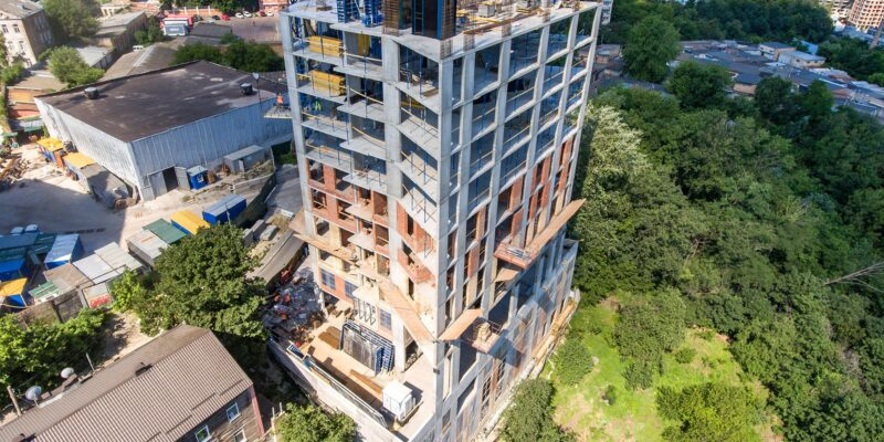 News from the construction of Concordia Club Apartment